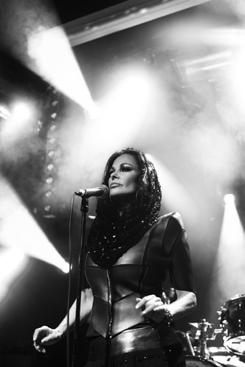 Jane Badler Paris 2014 Photo by Sylvain Nourget